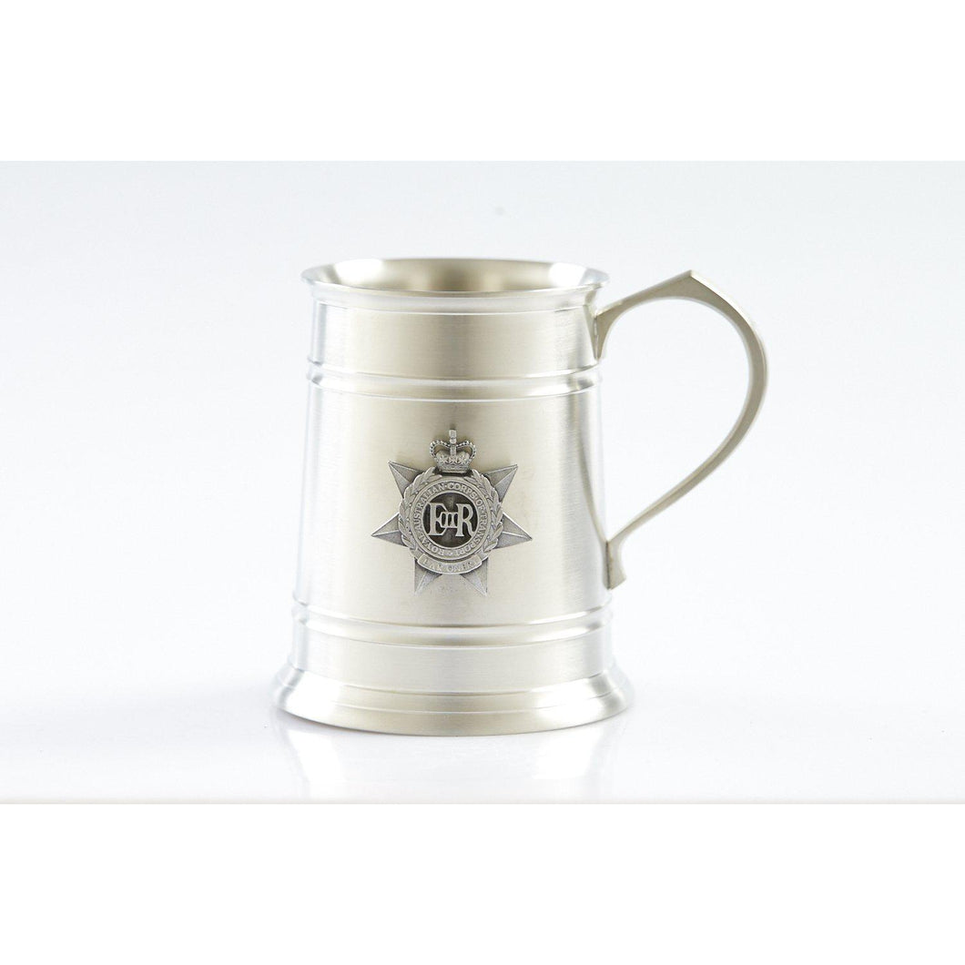 The Royal Australian Corps of of Transport (RACT) 560 ml Tankard-Buckingham Pewter