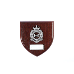 The Royal Australian Engineers Plaque Large (RAE) - Buckingham Pewter