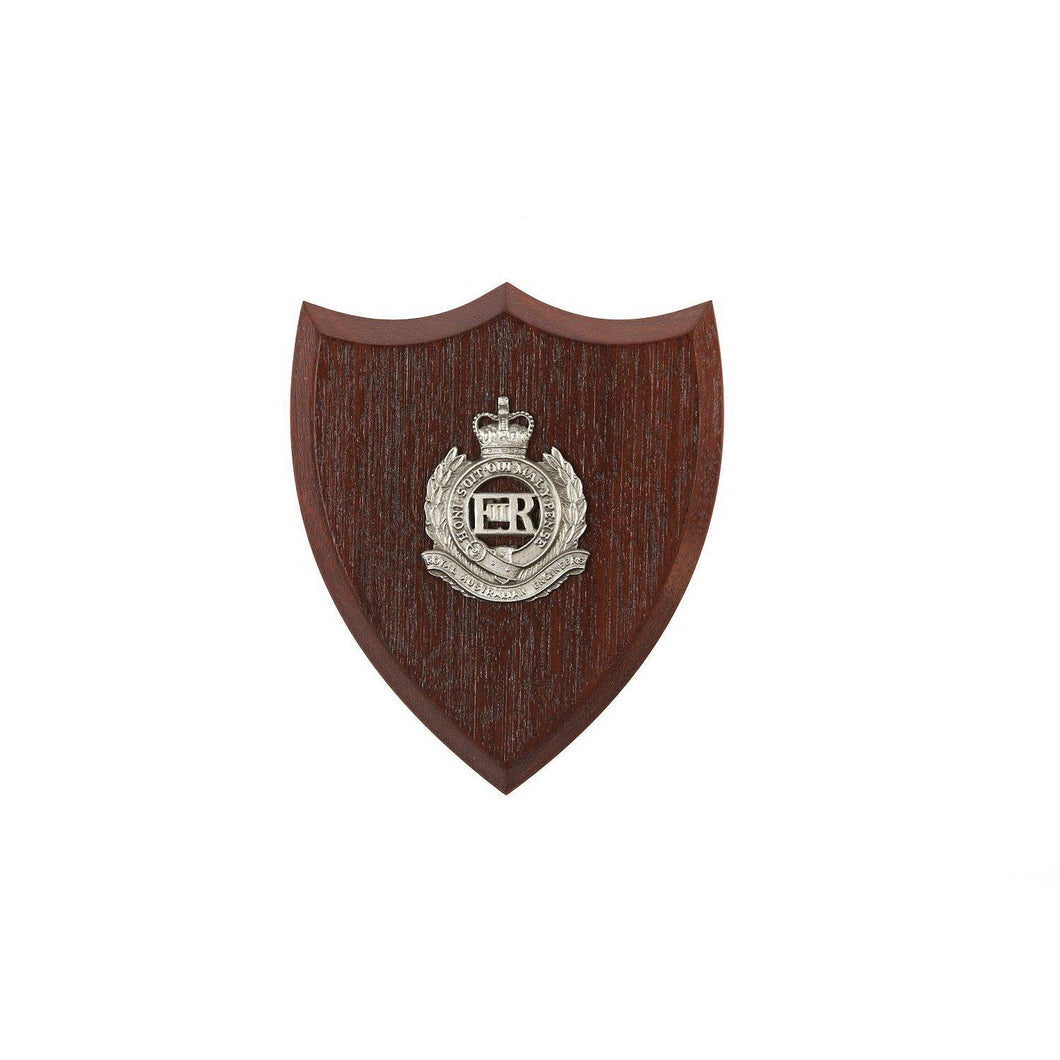 The Royal Australian Engineers Plaque Small (RAE) - Buckingham Pewter