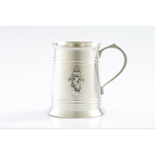 The Royal Australian Corps of Electrical and Mechanical Engineers (RAEME) 560 ml Tankard-Buckingham Pewter