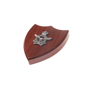 The Royal Australian Air Force Plaque Small (RAAF)-Buckingham Pewter