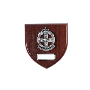 The Royal New South Wales Regiment Plaque Large (RNSWR) - Buckingham Pewter