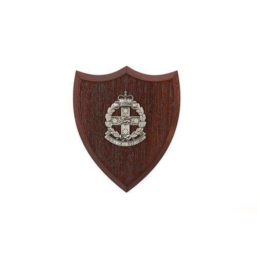 The Royal New South Wales Regiment Plaque Small (RNSWR) - Buckingham Pewter
