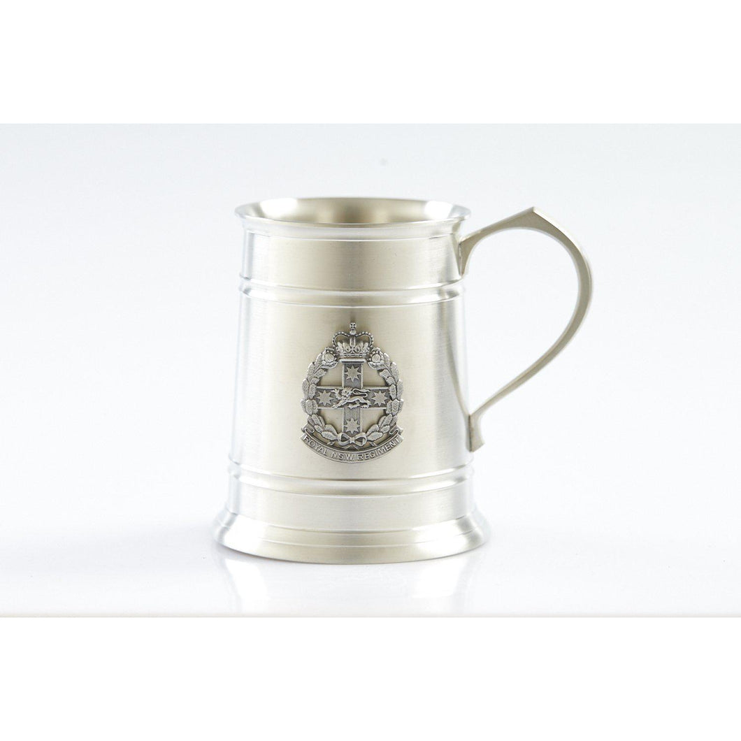 The Royal New South Wales Regiment (RNSWR) 560 ml Tankard-Buckingham Pewter