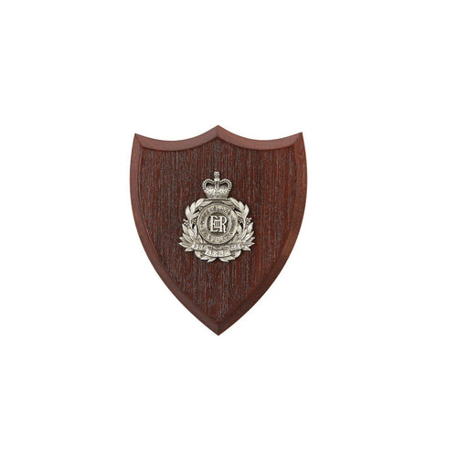 The Royal Queensland Regiment Plaque Small (RQR) - Buckingham Pewter