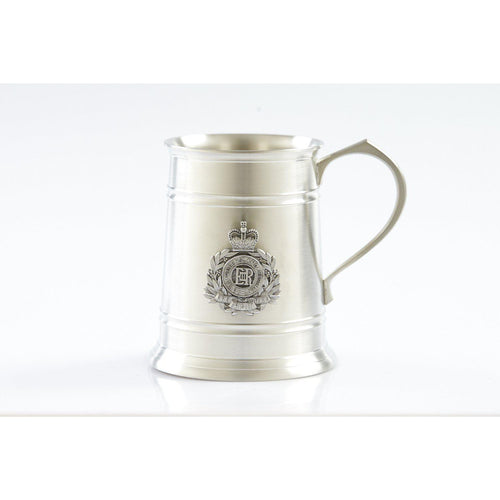 The Royal Queensland Regiment (RQR) 560 ml Tankard-Buckingham Pewter