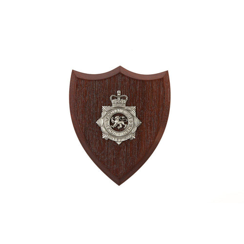 The Royal Tasmania Regiment Badge Plaque Small (RTR) - Buckingham Pewter