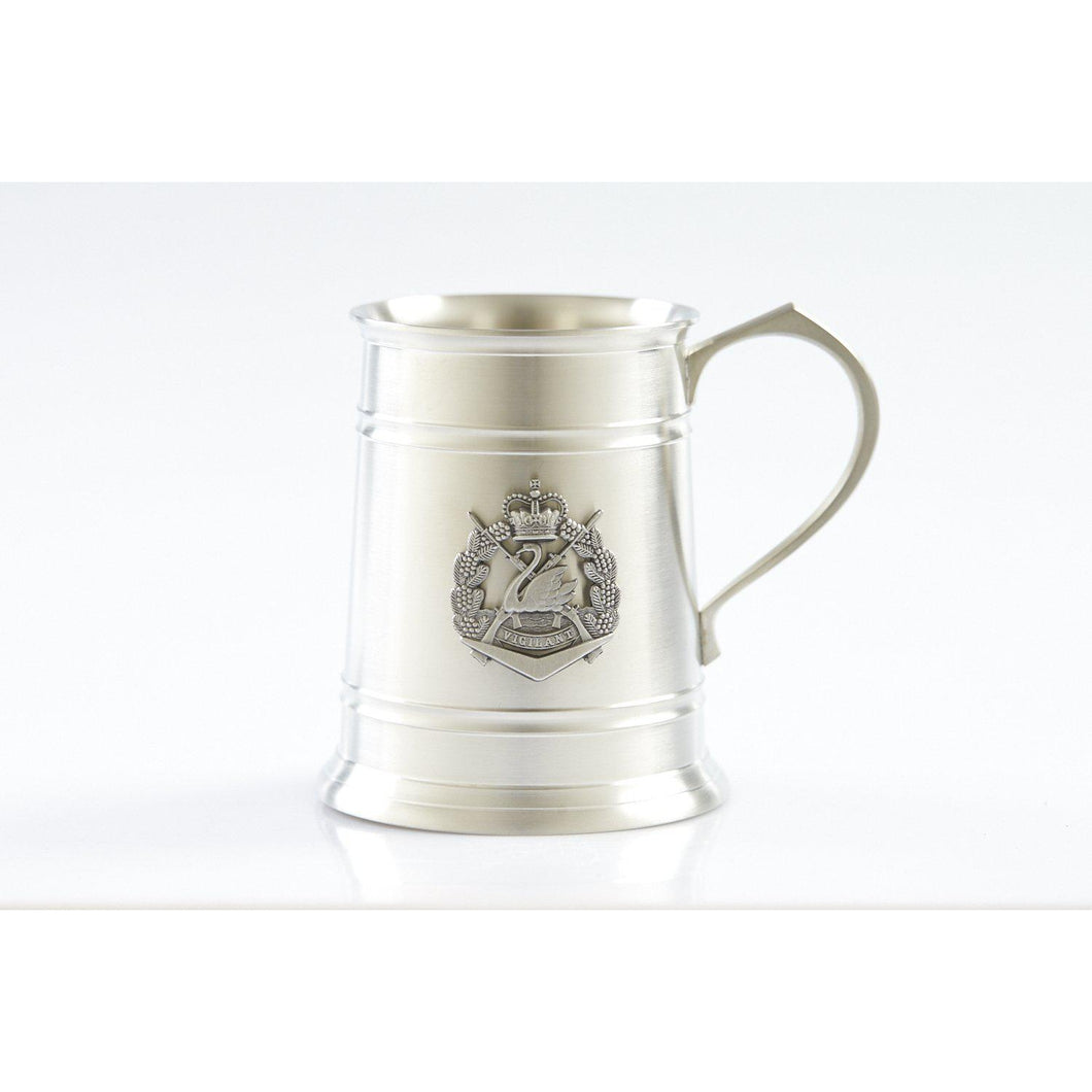 The Royal Western Australia Regiment (RWAR) 560 ml Tankard-Buckingham Pewter