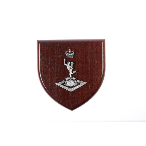 The Royal Australian Corps of Signals Plaque Large (RASigs) - Buckingham Pewter