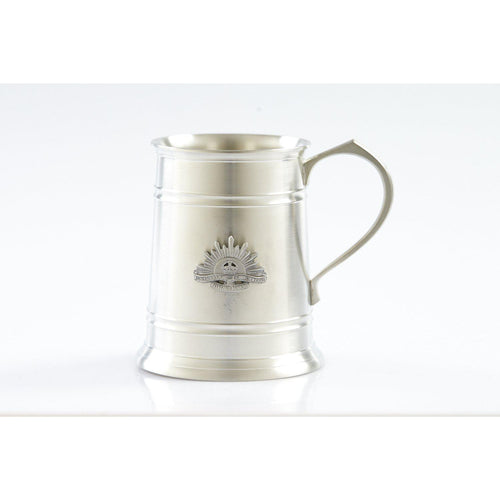 The Rising Sun - Australian Commonwealth Military Force 560 ml Tankard-Buckingham Pewter