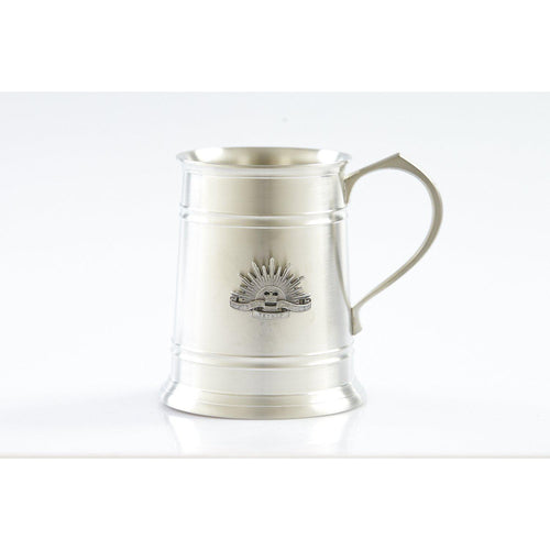 The Rising Sun - Australian Military Force 560 ml Tankard-Buckingham Pewter
