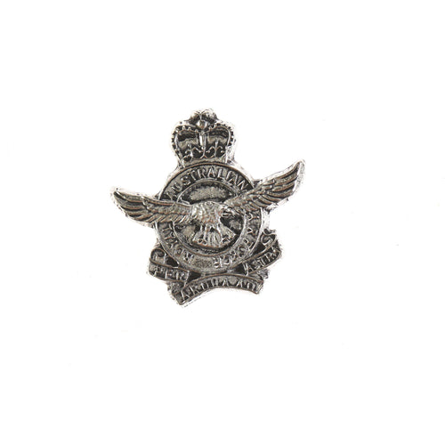 Royal Australian Air Force Pewter Pin (RAAF)-Buckingham Pewter