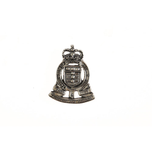 The Royal Australian Army Ordnance Corps Pewter Lapel Pin (RAAOC) - Buckingham Pewter