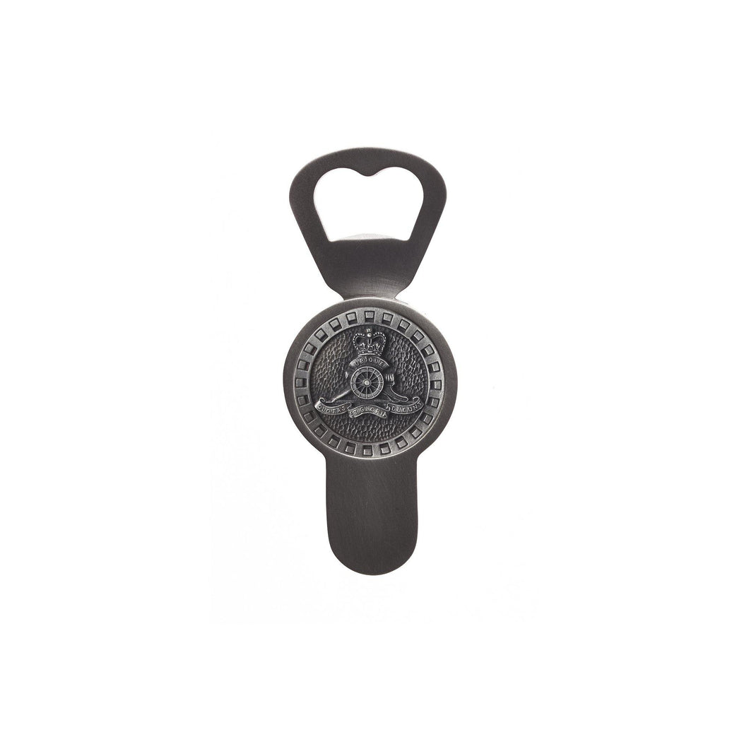 Royal Australian Artillery Bottle Opener (RAA)-Buckingham Pewter