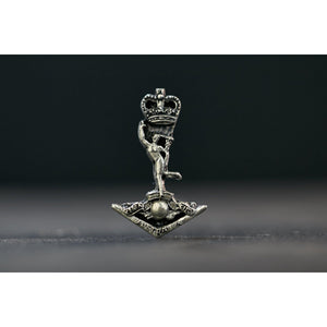 The Royal Australian Corps of Signals Pewter Lapel Pin (RASigs) - Buckingham Pewter