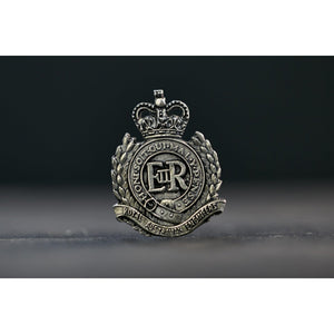 The Royal Australian Engineers Pewter Lapel Pin (RAE) - Buckingham Pewter