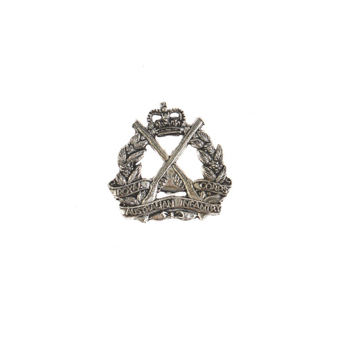 The Royal Australian Infantry Corps Pewter Lapel Pin (RA Inf) - Buckingham Pewter
