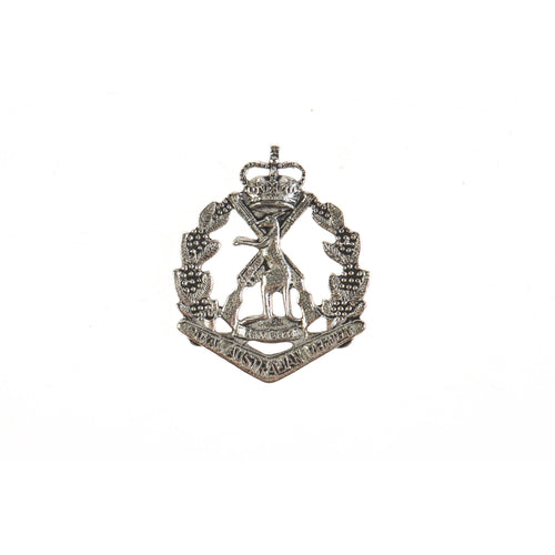 The Royal Australian Regiment Pewter Lapel Pin (RAR)-Buckingham Pewter