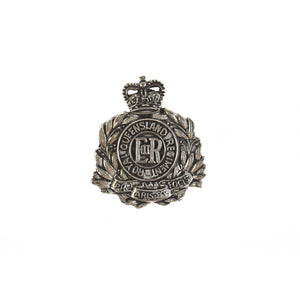 The Royal Queensland Regiment Pewter Lapel Pin (RQR) - Buckingham Pewter