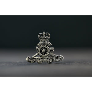 Royal Australian Artillery Pewter Lapel Pin (RAA) - Buckingham Pewter