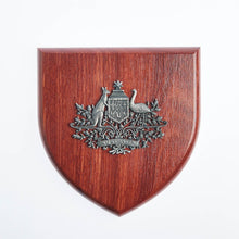 Load image into Gallery viewer, Australian Coat Of Arms Plaque Large-Buckingham Pewter
