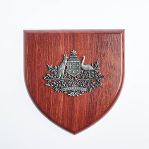 Australian Coat Of Arms Plaque Large-Buckingham Pewter