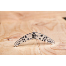 Load image into Gallery viewer, Pewter Boomerang Cave Art-Buckingham Pewter