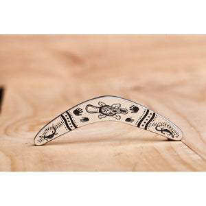 Pewter Boomerang Cave Art-Buckingham Pewter