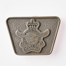 Load image into Gallery viewer, Royal Australian Air Force Pewter Belt Buckle (RAAF)