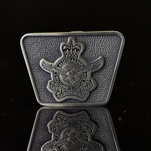 Royal Australian Air Force Pewter Belt Buckle (RAAF)