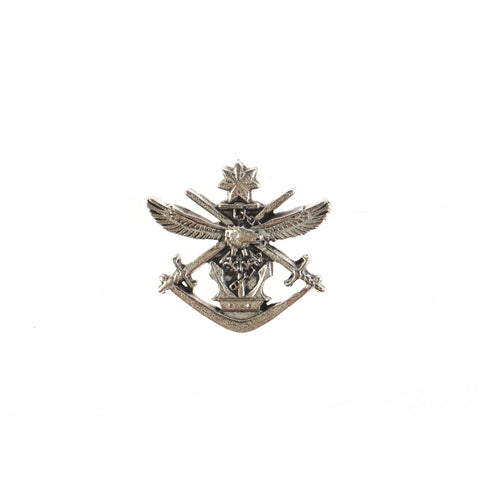 Tri Service Pewter Lapel Pin - Buckingham Pewter