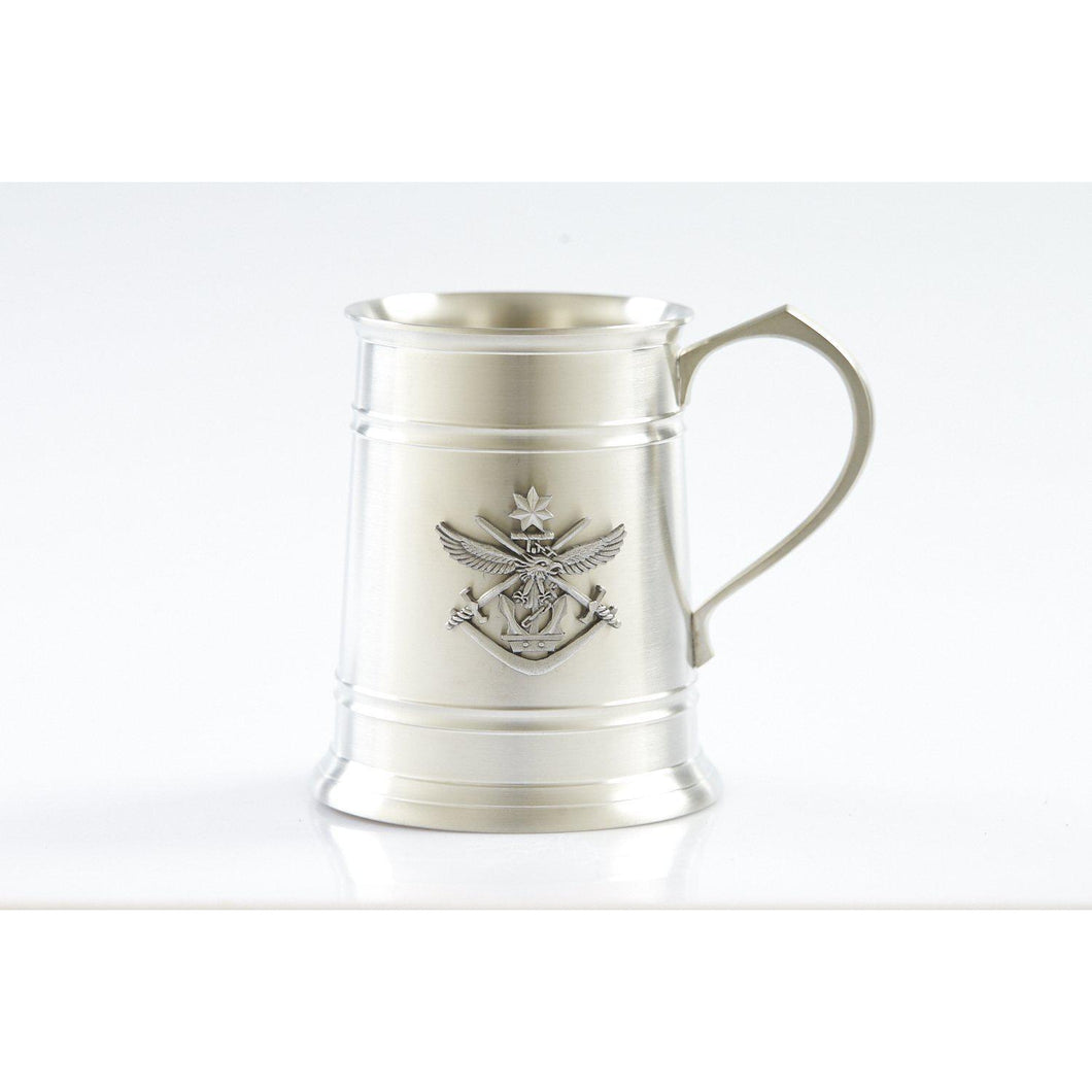 The Tri Service 560 ml Tankard-Buckingham Pewter