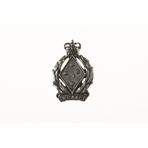 The Women's Royal Australian Army Corps Pewter Lapel Pin (WRAAC) - Buckingham Pewter