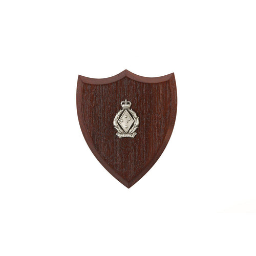 The Women's Royal Australian Army Corps Plaque Small (WRAAC) - Buckingham Pewter