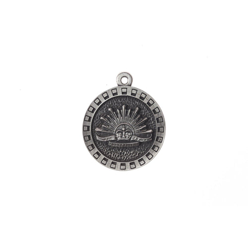 The Australian Rising Sun Pewter Keyring - Buckingham Pewter