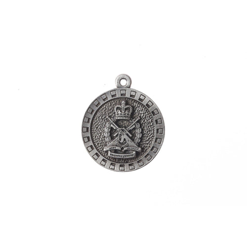 Army Training Centre Pewter Keyring - Buckingham Pewter