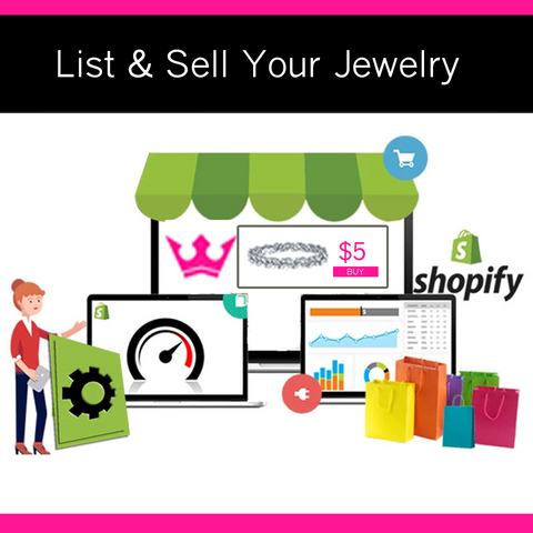 Shopify Store Setup Assistance for Paparazzi Jewelry