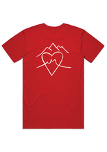 "Load image into Gallery viewer, ""Wear Red Day - Man Walk Tee 2021"""