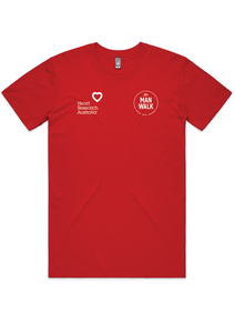 """Wear Red Day - Man Walk Tee 2021"""