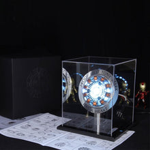 Load image into Gallery viewer, LED Avengers 1:1 Scale Iron Man Arc Reactor Core Tony Stark Heart Model With Led Light Figure Gift DIY Need To Assemble MK1 Reac