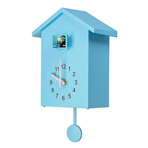 3 Colors Cuckoo Quartz Wall Clock Modern Bird Home Living Room Hanging Watch Horologe Clocks Timer Office Home Decoration Gifts