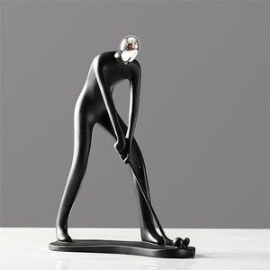 Creative Movement Figures Statue Resin Character Sculpture People Figures Home Living Room Bedroom Decorations Art Craft Statues