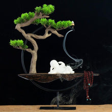 Load image into Gallery viewer, Chinese Zen Home Decoration Ornaments Fragrant Crafts Creative Fog Pine - Buddha Statue Sculpture Living Room Home Decorations