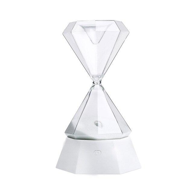 USB Sleep-Aid Hourglass Light For Kids Stay Focus Sleep Sensor Light Birthday Gifts Home Decor 15 Minutes Timing