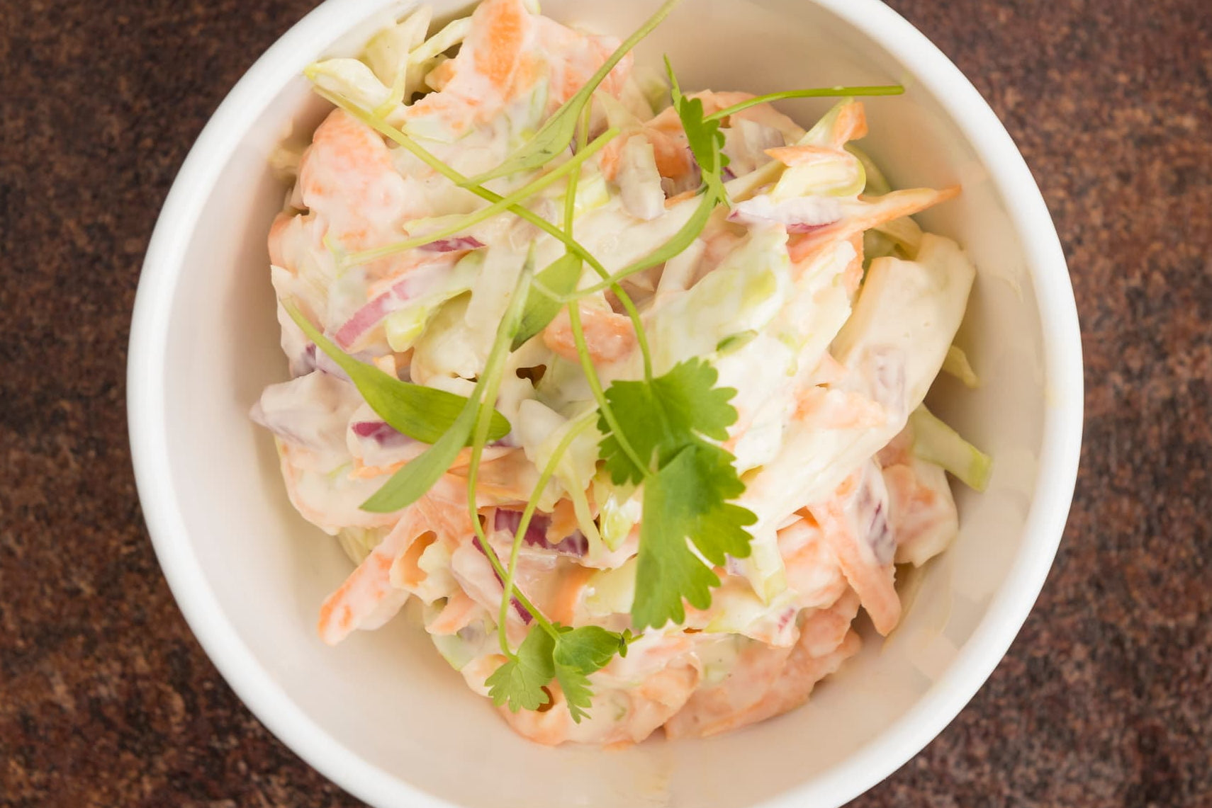 Coleslaw To Share For 2 People (V)