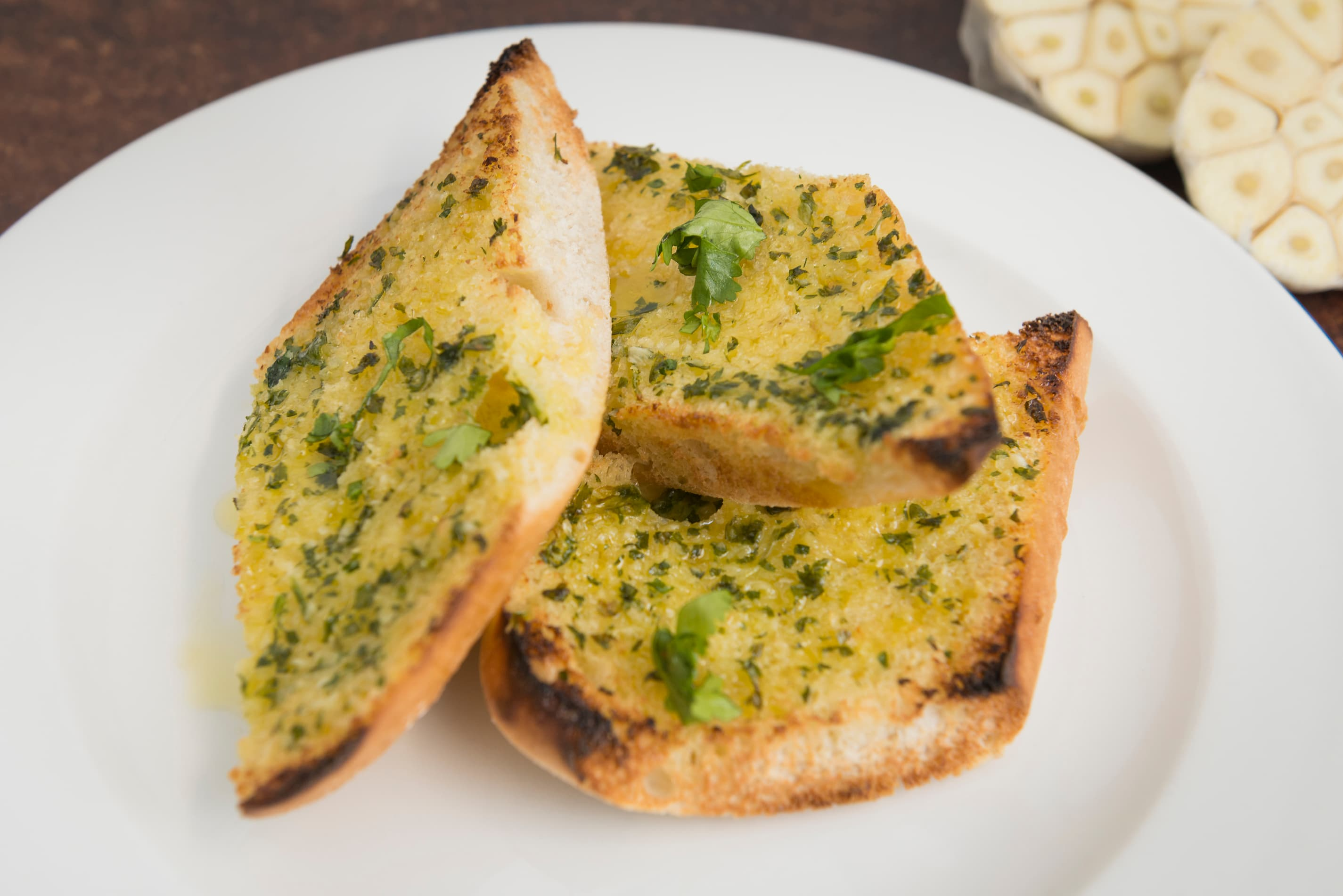 Garlic Bread To Share For 2 People (V)