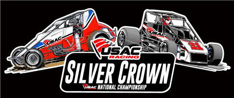 SERIES DECALS - SILVER CROWN