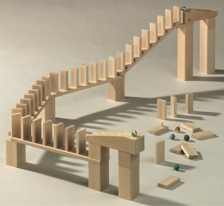 Haba Domino Bridge Set