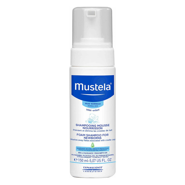 Mustela Foam Shampoo for Newborns - 150ml