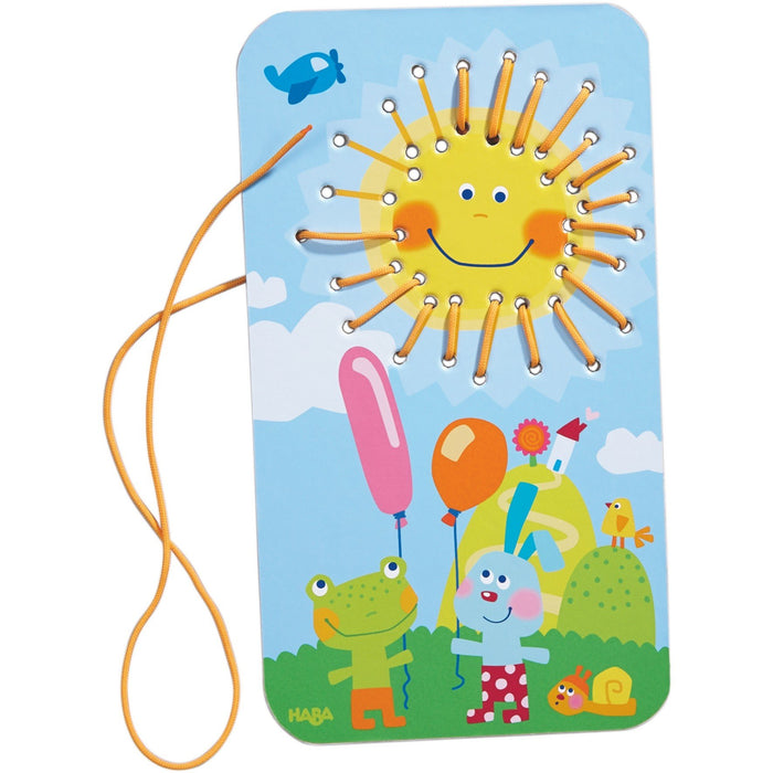 Haba Sunshine Threading Game
